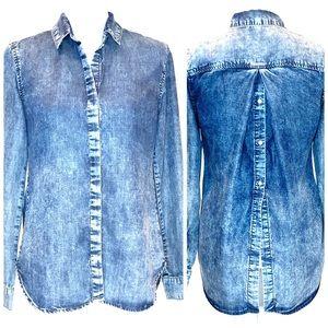 CLOTH & STONE | Denim Button Back Shirt